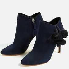 Zara Zip Ankle Boots for Women