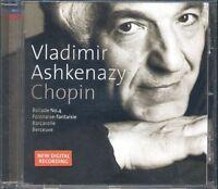 Vladimir Ashkenazy - Chopin Ballade No. 4 Polonaise/Barcarolle Decca Cd Ottimo