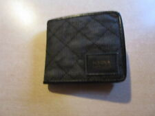 Nixon monedero Bespoke bi-fold Wallet Black nuevo