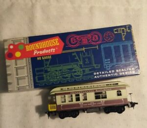 Roundhouse HO Scale Overton Observation Train Car Kit Overland Dispatch Railroad