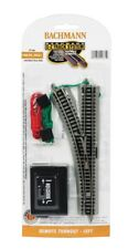 Bachmann N Scale Remote Turnout EZ-Track Roadbed Train Track Left Hand