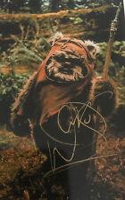 6x4 Hand Signed Photo of Warwick Davies - Star Wars Wicket