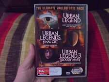 URBAN LEGEND 1, 2 & 3_Final Cut_Bloody Mary__used DVD_ships from AUS!__zz4_bo2