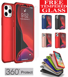 Case for iPhone 11 12 Pro Max XR 7 8 6s PLUS SE XS Bumper Shockproof Phone Cover