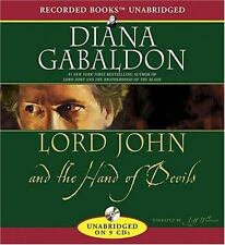 Lord John and the Hand of Devils by Diana Gabaldon, unabridged cd, NEW
