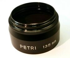 52mm Petri Metal Lens Hood Shade  threaded screw in for 135mm f3.5 series 7