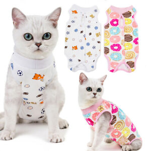 Pet Surgery Clothing Puppy Cat Dog Post-Operative Recovery Wounds Clothes Suit