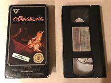 The Changeling (VHS, 1982) George C. Scott, Trish Van Devere - Vestron Video