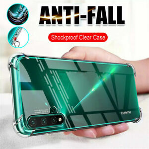 For Huawei P20 P30 Pro P40 Lite Clear Shockproof Bumper Silicon Gel Case Cover