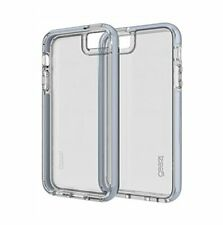 Official Gear4 Piccadilly Case Phone 5 5s SE D30 Impact Protection Silver Clear