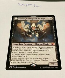 Magic the Gathering MTG Jerren, Corrupted Bishop x1 Mythic Rare Card NM/M