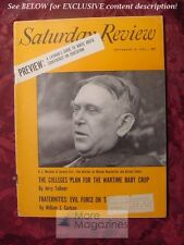 Saturday Review September 10 1955 H L MENCKEN William Manchester Alistair Cooke