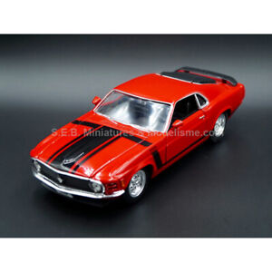 FORD MUSTANG BOSS 302 1970 1:24-27 WELLY