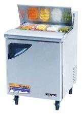"Turbo Air 28"" Sandwich Salad Prep Cooler 8 Pans TST28SD"