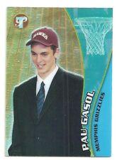 Pau Gasol 2001-02 Topps Pristine Memphis Grizzlies RC ROOKIE Refractor