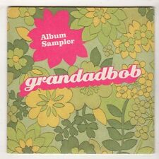 (HB721) Grandadbob, 7 track album sampler - 2003 DJ CD