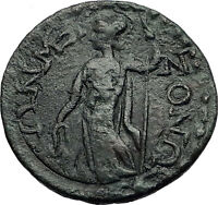 TERMESSOS MAJOR in PISIDIA 2-3CenAD HERMES ATHENA  Ancient Greek Coin i58321