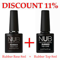 NUB Rubber Base Top Matte Camouflage Cover Primer Spider Nail Gel Polish komilfo