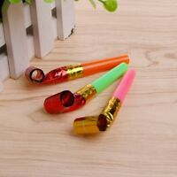 10Pcs Party Blowouts Whistles Favors Multi Color Toys Kids Birthday Party