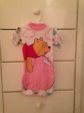 Vintage Kids Disney Winnie The Pooh Girls Nightgown Size 2t