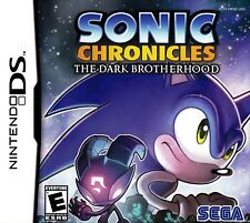 SONIC CHRONICLES: THE DARK BROTHERHOOD  ( JEUX NINTENDO DS ) COMPLET / CIB