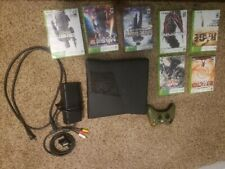 New listing Xbox 360 Slim Console with Controller and Games