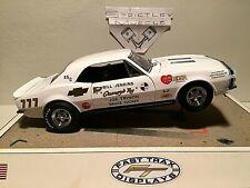 "1/18 scale 1967 Chevrolet Camaro ""GRUMPYS TOY""-Bill Jenkins-ermine white/black"