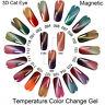 VTS 10ml Thermal Cat Eye Magnetic Nail Art Gel Polish Soak off UV/LED Gel Nails