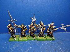 5 Schwarze Gardisten der Dunkelelfen METALL