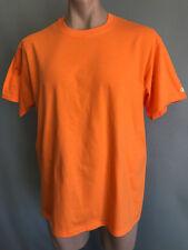 BNWOT Mens Sz 2XL Champion Brand Orange Stretch Short Sleeve T Shirt Tee Top