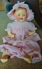 """ANTIQUE """"BABY DIMPLES"""" ~ E.I. HORSMAN COMPOSITION DOLL ~ LATE 1920's ~ PRISTINE"""