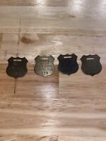 Lot X4 Winchester Colt Remington Smith & Wesson Firearms Property Inspector Tags