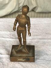 Italian Armored Knight Miniature Statue