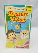 Treasure Island VHS Video Tape Cartoon Enchanted Collection NEW Sealed FREE SHIP