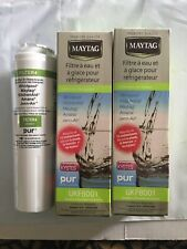 2pk OEM Compatible Maytag UKF8001 Refrigerator Ice & Water Filter New