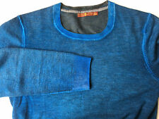 Seven For All Mankind Sweater Wool Men's Blue Retail $178 M