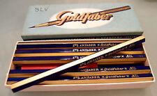 (PRL) A. W. FABER CASTELL GOLDFABER N° 871 BIG PENCILS CRAYON MATITE VINTAGE BLU