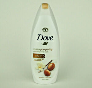 Dove Purely Pampering Shea Butter with Warm Vanilla Body Wash, 22 oz NEW