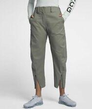 Nike Womens NikeLab ACG Tech Woven Pant M Medium Dark Stucco 914471 004 Lab