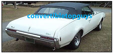OLDSMOBILE CUTLASS, F85 & 442 CONVERTIBLE TOP-DO IT YOURSELF PKG 1968-1972