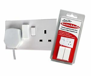 SwitchSafe switch cover, protector and guard to prevent accidental switch off