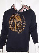 Denim & Supply Ralph Lauren Native American french terry hoodie size medium NEW