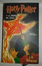 HARRY POTTER Y LA ORDEN DEL FENIX DE J.K. ROWLING LIBRO EN BUEN ESTADO