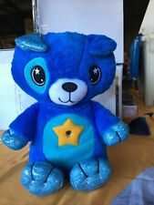 Star Belly Dream Lites, Stuffed Animal Night Light, Blue Puppy. New But Opened