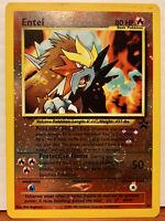 Pokémon TCG Entei #34 Black Star Movie Promo Card Spell Of The Unown WOTC 2001