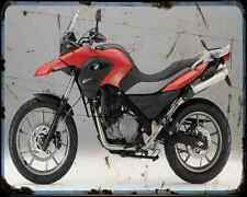 Bmw G 650Gs 11 8 A4 Metal Sign Motorbike Vintage Aged