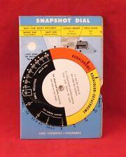Vintage KODAK Kodaguide Snapshot Dial (1956)