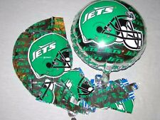 New York Jets Vintage Football Party Decoration Mylar Balloons 6 Pack NEW