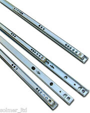 5 Pairs Ball Bearing Drawer runner Pr 280mm draw depth for 17mm - 10104