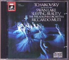 Riccardo MUTI: TCHAIKOVSKY Swan Lake Sleeping Beauty Schwanensee Dornsröschen CD
